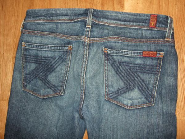 Seven For All Mankind Flynt Bootcut Jeans 28 / 33.5 uk 10